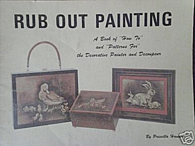 RUB OUT PAINTING~PRISCLLA HAUSER~1972~OOP (Image1)