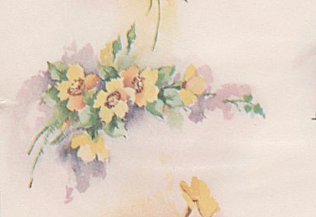 Vintage - Winifred Brase - China Paint - Flowers