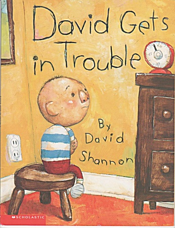 DAVID GETS IN TROUBLE~BY DAVID SHANNON~PRESCH (Image1)
