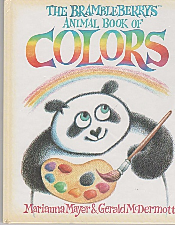 The Brambleberrys Animal Book Of Colors - Presc