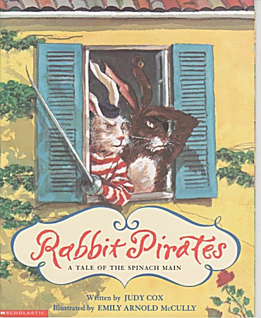 Rabbit Pirates - Judy Cox - Gd 2-3 -