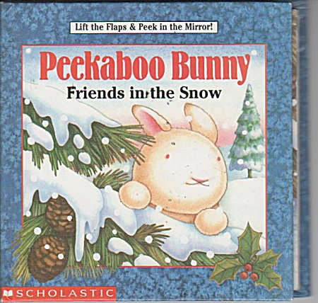 PEEKABOO BUNNY  FRIENDS IN THE SNOW (Image1)