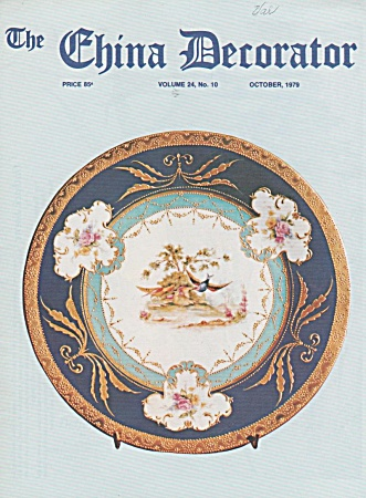 VINTAGE~CHINA DECORATOR ~OCTOBER~1979 (Image1)