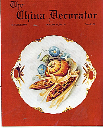 CHINA DECORATOR  OCTOBER 1990 (Image1)