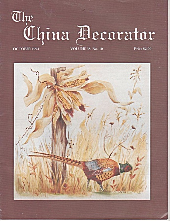 VINTAGE~CHINA DECORATOR~OCTOBER~1993 (Image1)