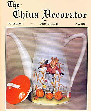 CHINA DECORATOR OCTOBER 1996 (Image1)