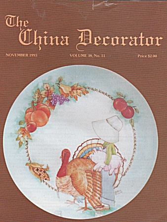 Vintage - China Decorator - November - 1993