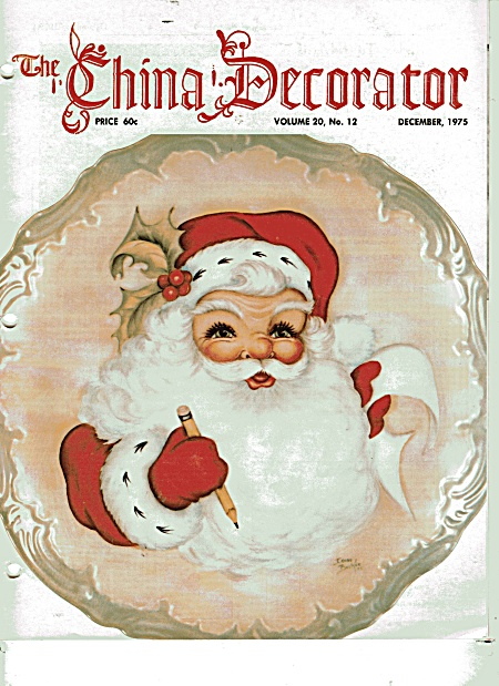 VINTAGE~CHINA DECORATOR~DECEMBER~1975 (Image1)