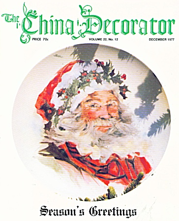 THE CHINA DECORATOR ~  DECEMBER  1977 (Image1)
