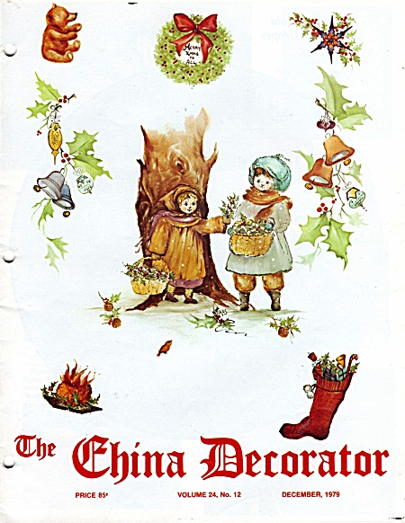 VINTAGE~CHINA DECORATOR~DECEMBER~1979 (Image1)