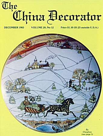 THE CHINA DECORATOR ~ DECEMBER 1983 (Image1)