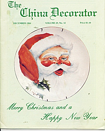 THE CHINA DECORATOR  DECEMBER 1984 (Image1)