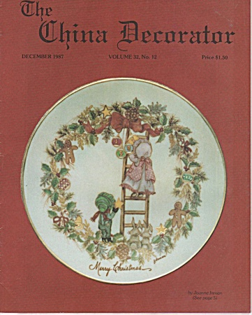 Vintage - The China Decorator - December 1987