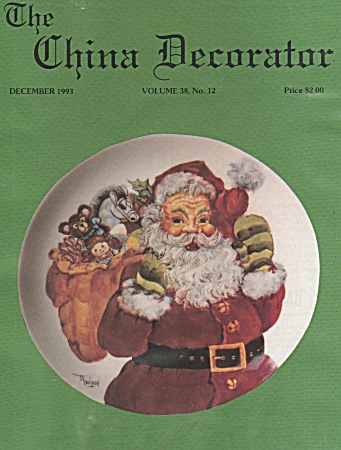 Vintage - China Decorator - December - 1993