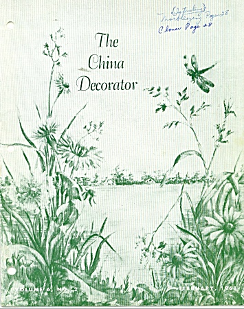 THE CHINA DECORATOR  FEBRUARY,1961 (Image1)