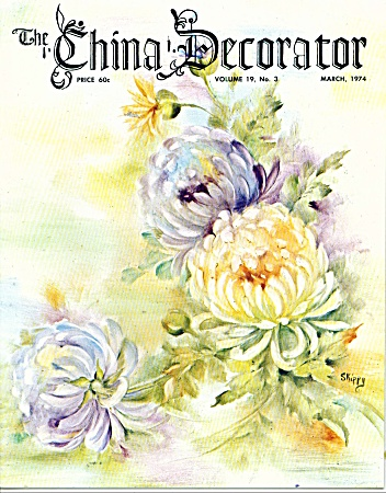 Vintage - The China Decorator March - 1974