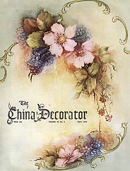 CHINA DECORATOR~VINTAGE-MAY 1973 (Image1)