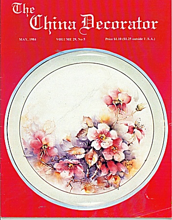 THE CHINA DECORATOR  MAY 1984 (Image1)