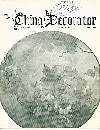 THE CHINA DECORATOR  Vintage MARCH,1965 (Image1)