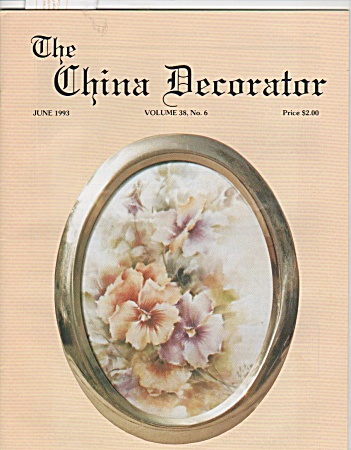 Vintage - China Decorator - June 1993