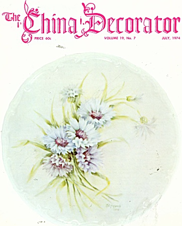 Vintage The China Decorator May - 1974