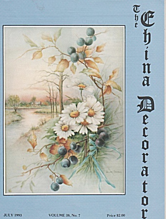 Vintage - China Decorator - July - 1993