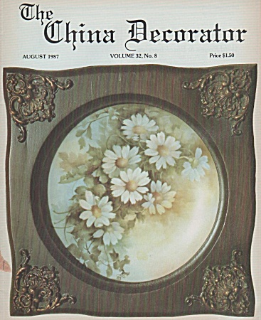 Vintage - The China Decorator - August 1987