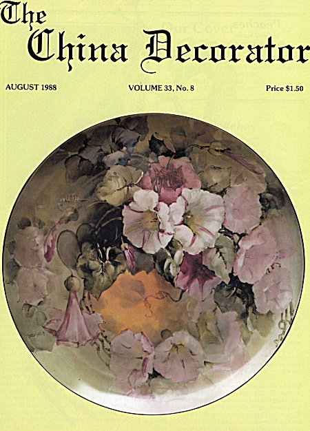 Vintage - China Decorator - August - 1988