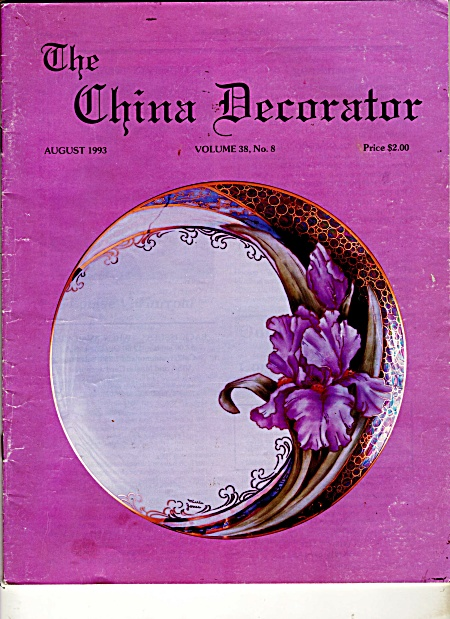 Vintage - China Decorator - August - 1993
