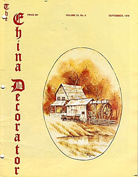 Vintage - The China Decorator - September - 1979