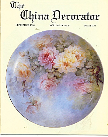 THE CHINA DECORATOR  SEPTEMBER  1984 (Image1)