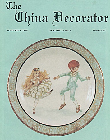 Vintage - China Decorator - September - 1990