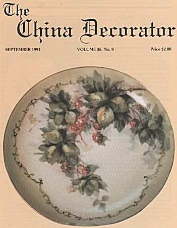 China Decorator - September - 1991