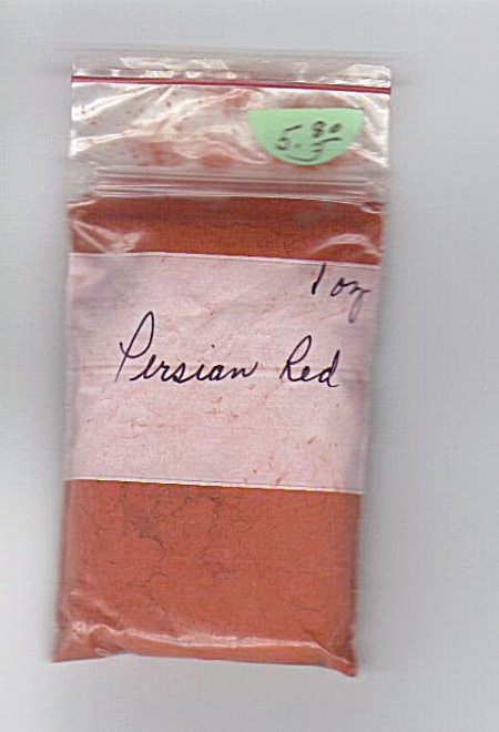PERSIAN RED~ CHINA PAINT~-06 ~1 OUNCE (Image1)