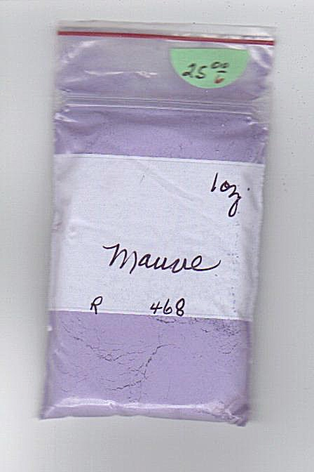 CHINA PAINT~~MAUVE~1 OUNCE~CHARLOTTE HUDACK E (Image1)