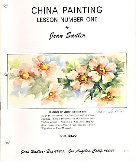 VINTAGE~JEAN SADLER~12 LESSONS~OOP~6 SGND (Image1)