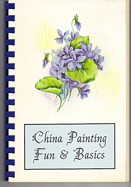 Gladys Galloway - China Paint - Fun - Basics - Sgned -