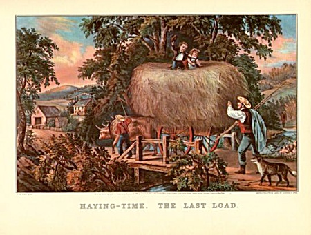 Haying Time- The Last Load