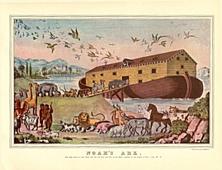 Currier And Ives Noah's Ark