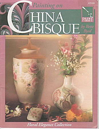VINTAGE~CHINA BISQUE PAINTING~OOP (Image1)