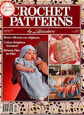 Crochet Patterns Book Rose AFGHAN and MORE (Image1)