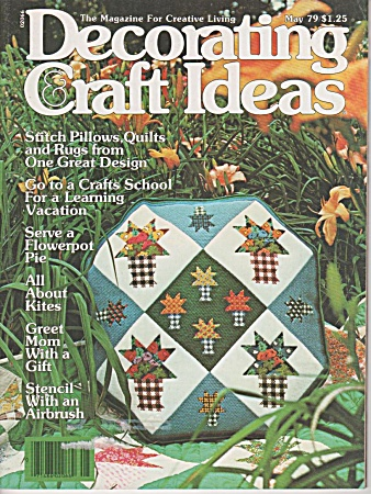 Decorating Craft Ideas - May - 1979 - Oop