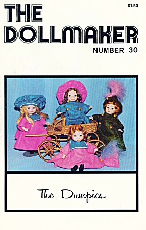 Vintage The Dollmaker July - August 1980
