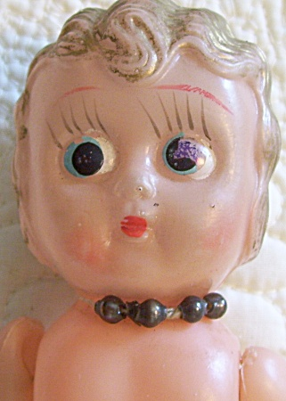 ANTIQUE~CELLULOID DOLL~6 1/2 IN TALL~ (Image1)
