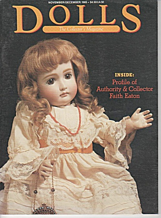 Vintage - Dolls - Nov - Dec - 1985