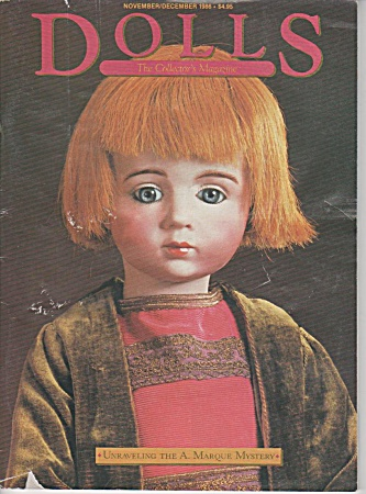 Dolls - The Collectors Book - Nov-dec-1986