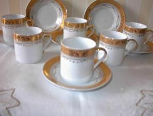 Gold Decorated Expresso Or Childs Cup Set