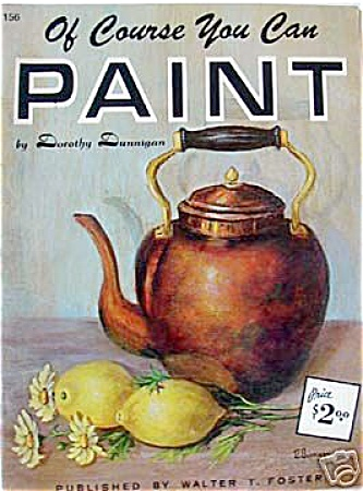 FOSTER BOOK 156 OF COURSE YOU CAN PAINT (Image1)