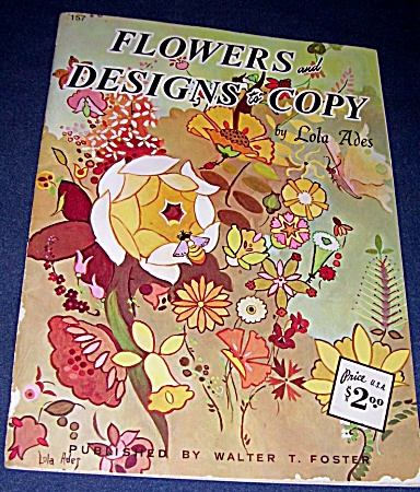 ADES~FLOWERS AND DESIGNS TO COPY~FOSTER~157 (Image1)