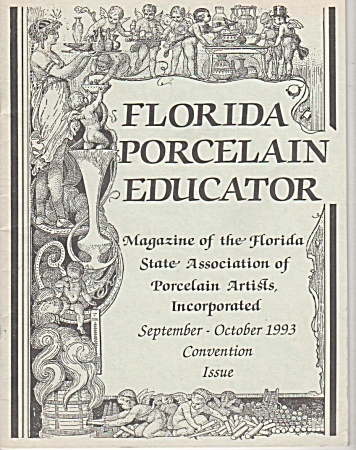 VINTAGE~FLORIDA PAINTERS~SEPT~OCT~1993~OOP (Image1)